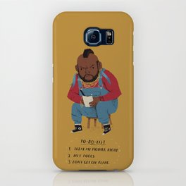 T to-do-list. iPhone Case
