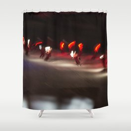 Torchlight descent 2 Shower Curtain
