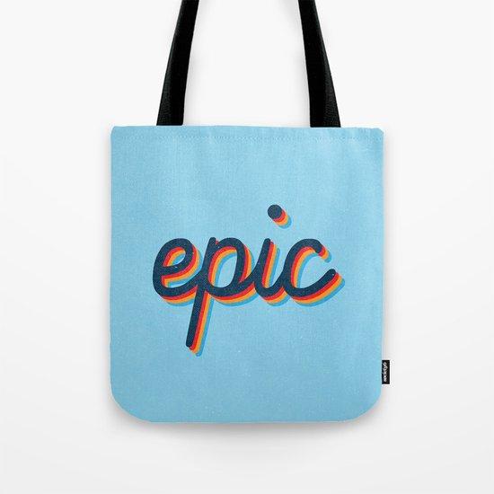 Epic - blue version Tote Bag