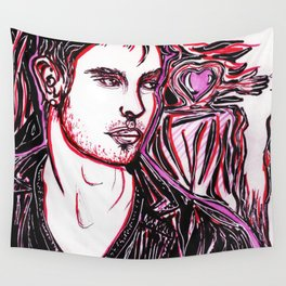 Divided Love Wall Tapestry