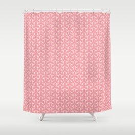 "tenugui""kumikikkou sakura"" Shower Curtain"