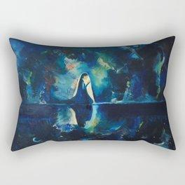The Meditation Rectangular Pillow