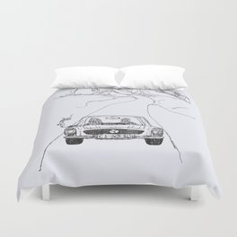looking for salvation Duvet Cover