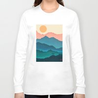 samsung Long Sleeve T-shirts featuring Meditating Samurai by Bacht