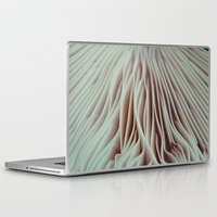mushroom Laptop & iPad Skins featuring Mushroom by Madison Pethel