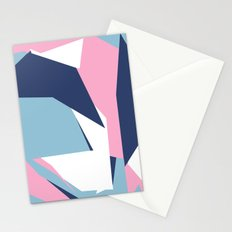 Dow Map Pink Stationery Cards