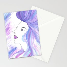 Cool Breeze Nymph Stationery Cards