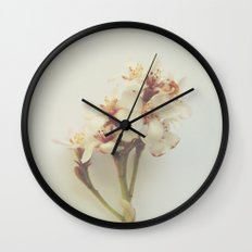 Floral Variations No. 8 Wall Clock