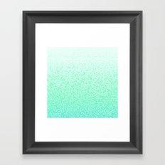 I Dream in Mint Framed Art Print