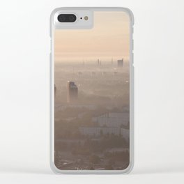 metropolis awakes Clear iPhone Case