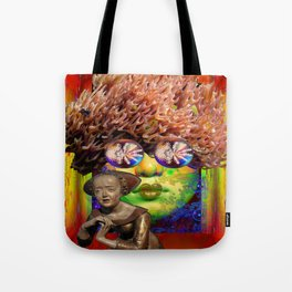 Something is Coming Tote Bag