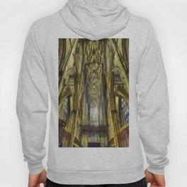 York Minster Van Gogh Style Hoody