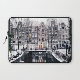 AMSTERDAM / Winter Magic Laptop Sleeve