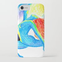 yoga iPhone & iPod Cases featuring Yoga by solnceZ