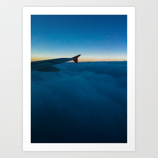 Cotton and Wing Art Print