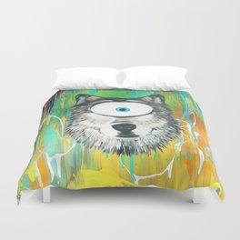 Wolf Spirit Animal Duvet Cover
