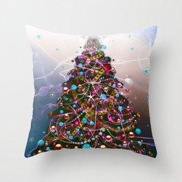 Chrismas Tree 5 Throw Pillow