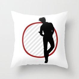 Silhouette Spotlight I Throw Pillow