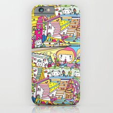 cartoon wonderland iPhone 6s Slim Case