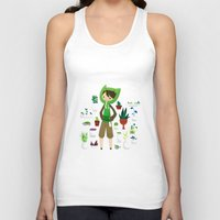 plants Tank Tops featuring Plants by Zennore