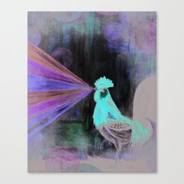 Supersonic Rooster Canvas Print