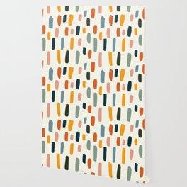 Rainbow Confetti Pattern Wallpaper