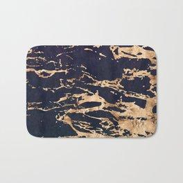 Double Marble Lichenradient Suede Bath Mat