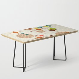 Starbursts and Globes Coffee Table