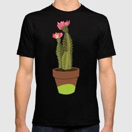 Green Pot Cactus T-shirt