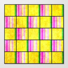 Checkered Pattern Canvas Print