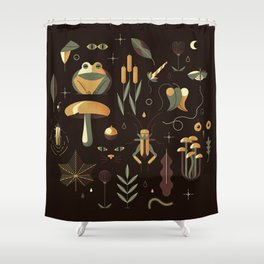 Countrylife #3 — Night Shower Curtain