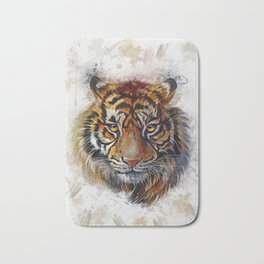 Tigers Eyes Bath Mat
