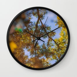 Harbinger of Fall II Wall Clock