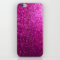 Pink Sparkle Glitter iPhone & iPod Skin