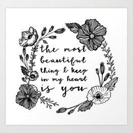 Beautiful Poppies Art Print