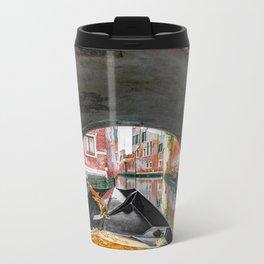 Gondola Tunnel Metal Travel Mug