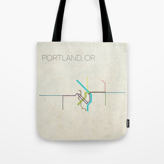 Minimal Portland, OR Metro Map by chrisnapolitano