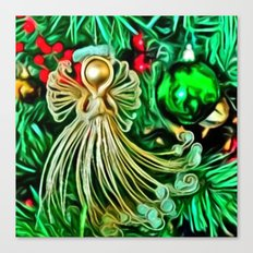 Christmas Angel Canvas Print