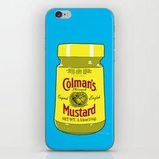 Proper Mustard iPhone & iPod Skin