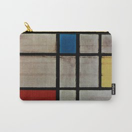 Piet Mondrian Composition with Red, Yellow and Blue Carry-All Pouch