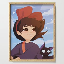 Kiki's Delivery Service Serving Tray