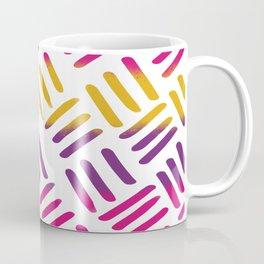 Sunset Stitch Coffee Mug