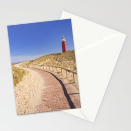 I - Lighthouse on the island of Texel in The Netherlands Stationery Cards
