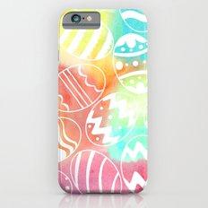 Watercolored Eggs iPhone 6s Slim Case