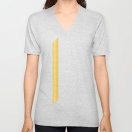 Tagged Gold no11 Unisex V-Neck