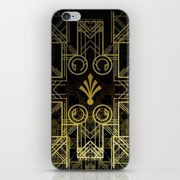 Art Deco Circuit iPhone Skin