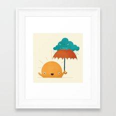 Lighten Up! Framed Art Print