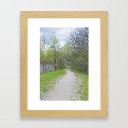 Verdant Spring Framed Art Print