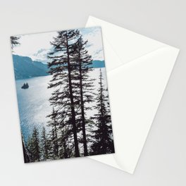 Mountain Lake Retreat Stationery Cards
