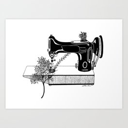 Making Tree Art Print